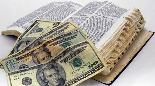 old-bible-money