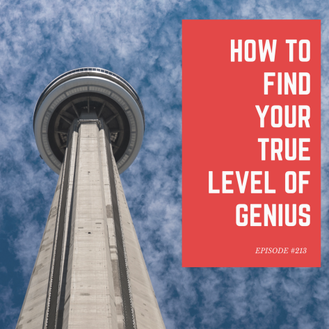 HOW TO FIND YOUR LEVEL OF GENIUS